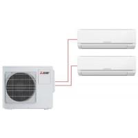 Мультисплит система MITSUBISHI ELECTRIC MSZ-DM25VA + MSZ-DM35VA / MXZ-2DM40VA