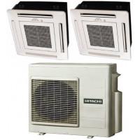 Мультисплит система HITACHI RAI-25QPB + RAI-50QPB / RAM-68NP3B