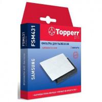 TOPPERR FSM 431 для пылесосов Комплект фильтров (Губчатый фильтр+микрофильтр) для пылесосов Samsung