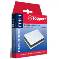 TOPPERR FPH 1 Комплект фильтр д/пылес PHILIPS, ELECTROLUX,BORK PHILIPS: Expression FC