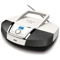 Аудиомагнитола BBK BX519BT белый/металлик