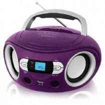 Аудиомагнитола BBK BS15BT фиолетовый