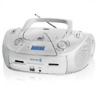 Аудиомагнитола BBK BX318BT серебро
