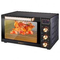 Мини-печь KRAFT KF-MO 3506 KGLB (черный/золото) с дисплеем