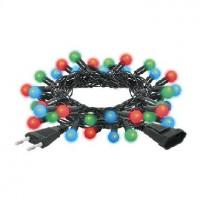 VEGAS 55098 Электрогирлянда Шарики 30 разноцвет. мигающих LED ламп 5м