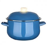 VETTA Глянец Кастрюля эмалированная, 22см, 3,6л, синий 894-468