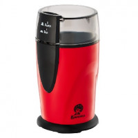 Кофемолка ВАСИЛИСА ВА-400 красный с черным