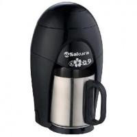 Кофеварка SAKURA SA-6106BK черный