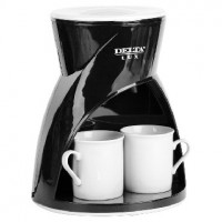 Кофеварка DELTA LUX DL-8131 черная