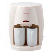 Кофеварка ENERGY EN-601 бежевый