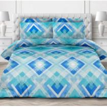 PARMA КПБ 1,5-спальный Авангард голубой