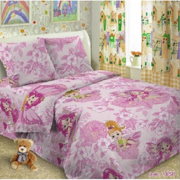 SMILE PALERMO-kids КПБ 1,5-спальный Феи