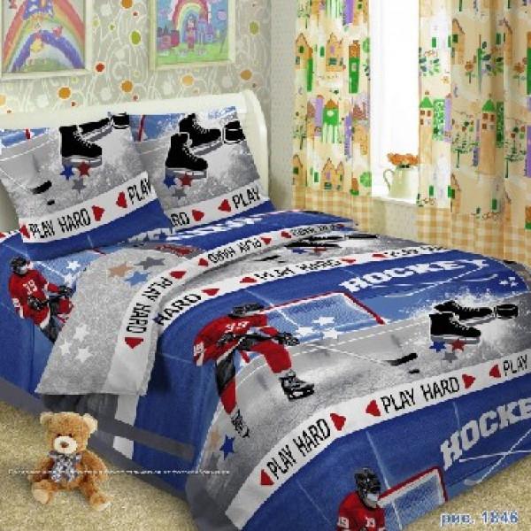 SMILE PALERMO-kids КПБ 1,5-спальный Хоккей