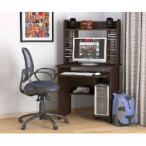 Мебель-Комплекс Стол компьютерный СК-01Н Венге Цаво (1 пак)