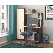 Мебель-Комплекс Cтол письменный Невада исп.5 Венге Цаво/Дуб Молочный/80312402