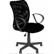 АЛВЕСТ Кресло AV 219 PL (Р) TW-сетка/сетка 455/470 черная/черная