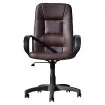 OFFICE-LAB кресло КР01 эко кожа шоколад / ЭКО3