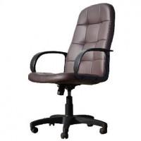 OFFICE-LAB кресло КР02 эко кожа шоколад / ЭКО3