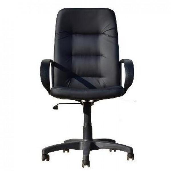 OFFICE-LAB кресло КР16 эко кожа черная / ЭКО1