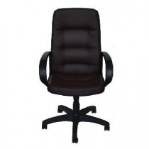 OFFICE-LAB кресло КР16 эко кожа шоколад / ЭКО3
