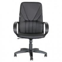 OFFICE-LAB кресло КР37 эко кожа черная / ЭКО1