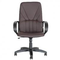 OFFICE-LAB кресло КР37 эко кожа шоколад / ЭКО3
