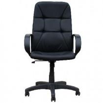 OFFICE-LAB кресло КР59 эко кожа черная / ЭКО1
