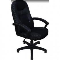 OFFICE-LAB Кресло КР08 центр TW черн./эко кожа черн./кант эко кожа черн. (700)