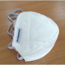 EcoSapiens ES-600 WHITEмаска защитная многоразовая (не медицинская) белая (15шт.)