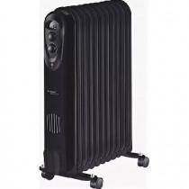 Масляный радиатор SCARLETT SC 21.2311 S3B 11 секц. Маслонаполненный радиатор черный