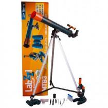LEVENHUK LABZZ MTВ3: микроскоп, телескоп и бинокль
