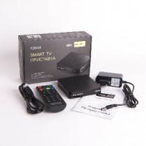 Медиаплеер ATOM 108AM SMART_BOX/ULTRA_HD/SMART_TV(Android 7.1/1G/8Gb)