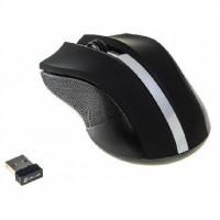 OKLICK 615MW черный/серебристый оптическая (1000dpi) беспроводная USB (2but)