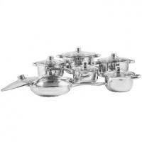 WEBBER BE-212/12 набор посуды 12пр нерж