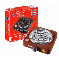 Настольная плита ЧУДЕСНИЦА ЭЛП-801 электрическая коричневая