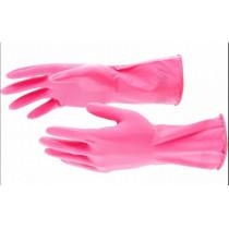 ELFE Перчатки хозяйственные латексные, S 67881