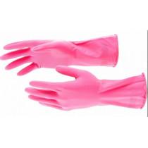 ELFE Перчатки хозяйственные латексные, M 67882