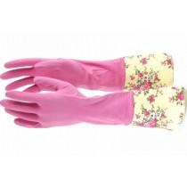 ELFE Перчатки хозяйственные латексные с манжетой, M 67890