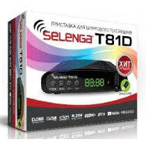 SELENGA (3266) T81D DVB-T2/C/WiFi/MEGOGO/IPTV/Dolby Digital, дисплей
