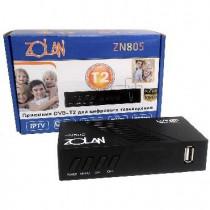 ZOLAN ZN 805 DVB-T2/C/Wi-Fi/IPTV/MEGOGO/YouTube, дисплей