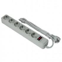 EXEGATE SP-6-1.8G (6 роз/1.8M/евровилка) серый