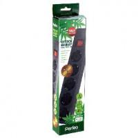 PERFEO 3м 5 розеток (PF-A4660) черный