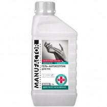 MANUFACTOR N308 Гель-антисептик для рук ПВХ 1л N30814