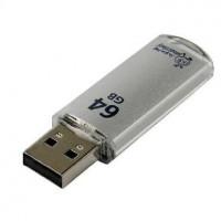 SMARTBUY 64GB V-CUT SILVER USB 3.0