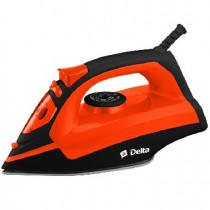 Утюг DELTA DL-755 черный с оранжевым