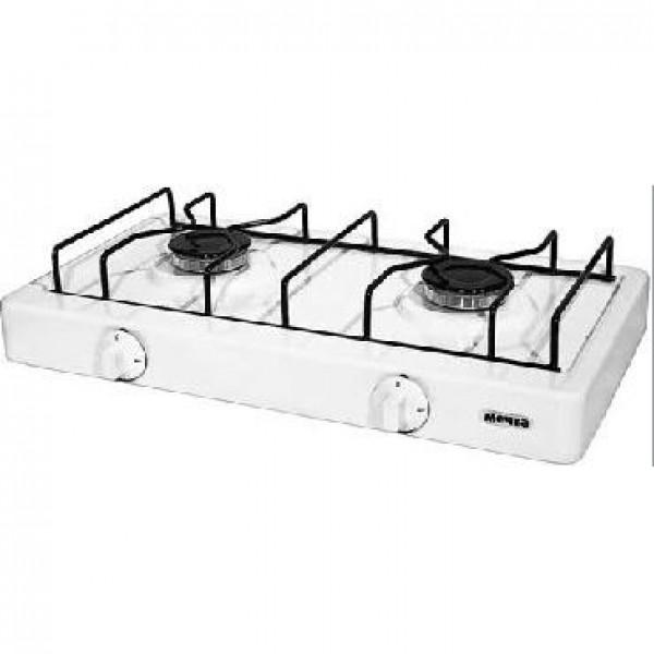 Настольная плита МЕЧТА 200М газовая белая