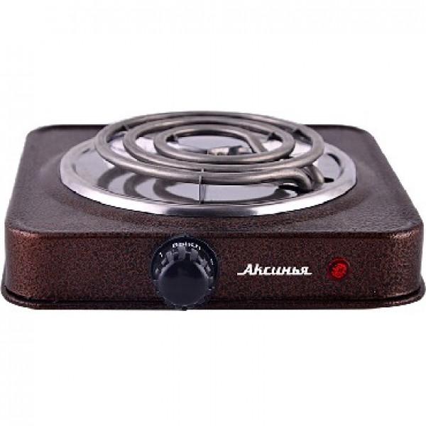 Настольная плита АКСИНЬЯ КС-005 электрическая коричневый