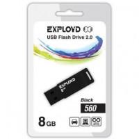 EXPLOYD 8GB-560-черный